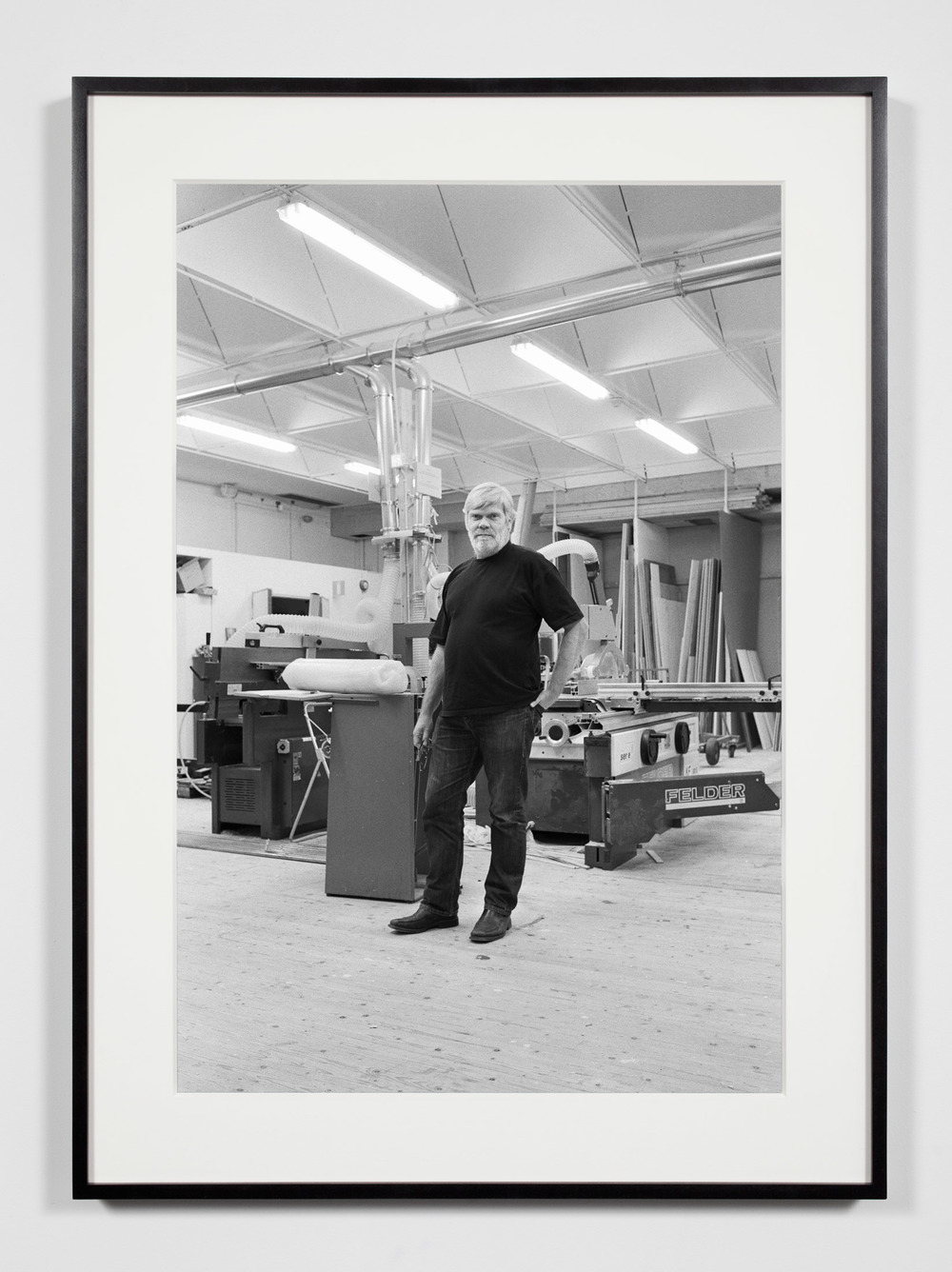 Kunsthalle Chief Technician, Malmö, Sweden, October 16, 2010    2011   Epson Ultrachrome K3 archival ink jet print on Hahnemühle Photo Rag paper  36 3/8 x 26 3/8 inches   Industrial Portraits, 2008–