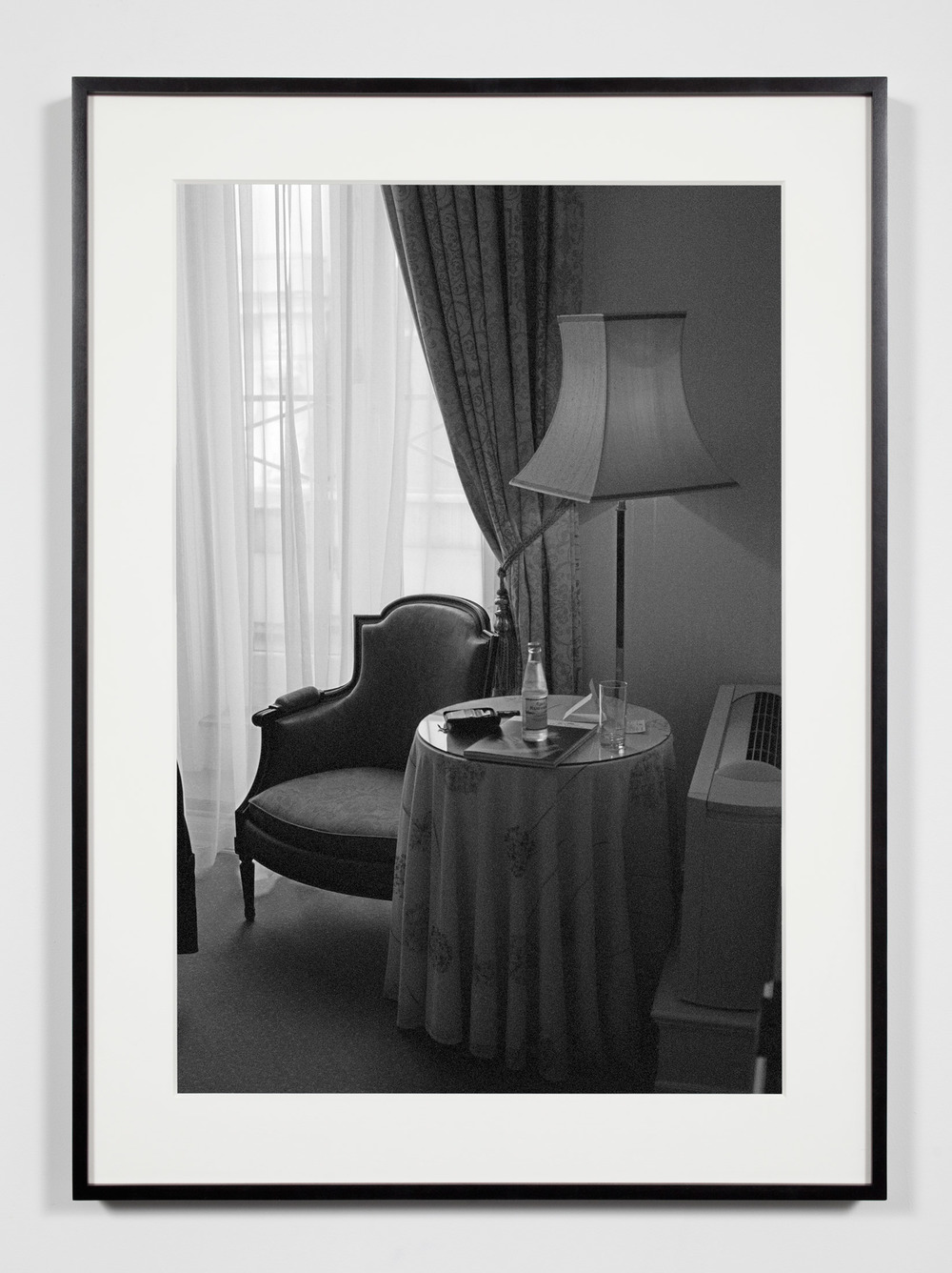 Hotel Room, Copenhagen, Denmark, May 15, 2010    2011   Epson Ultrachrome K3 archival ink jet print on Hahnemühle Photo Rag paper  36 3/8 x 26 3/8 inches   Industrial Portraits, 2008–