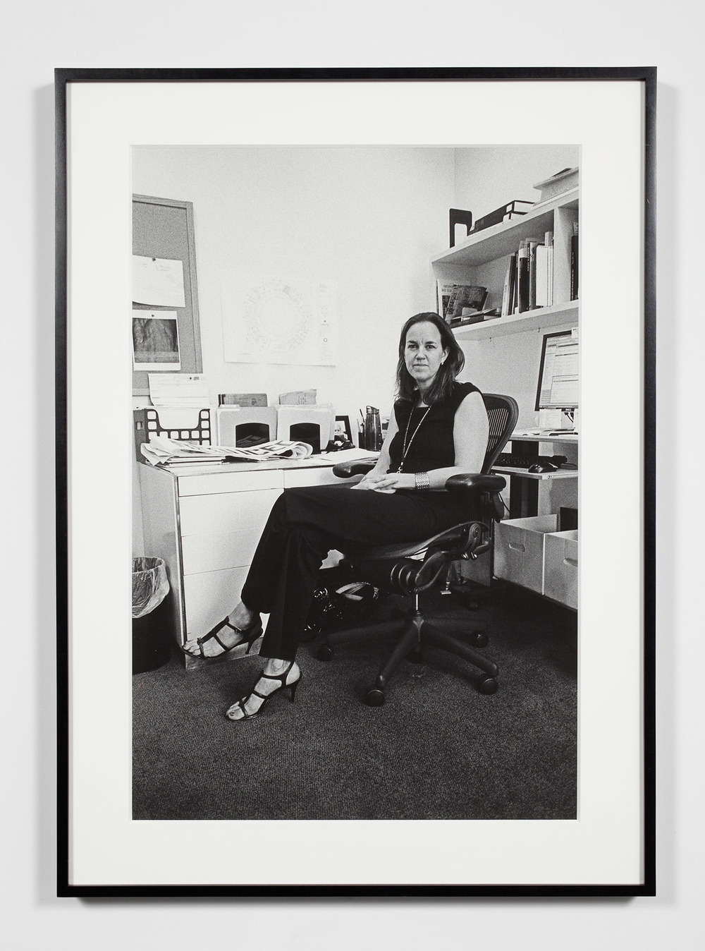 Museum Curator, Washington, District of Columbia, August 13, 2008    2011   Epson Ultrachrome K3 archival ink jet print on Hahnemühle Photo Rag paper  36 3/8 x 26 3/8 inches   Industrial Portraits, 2008–