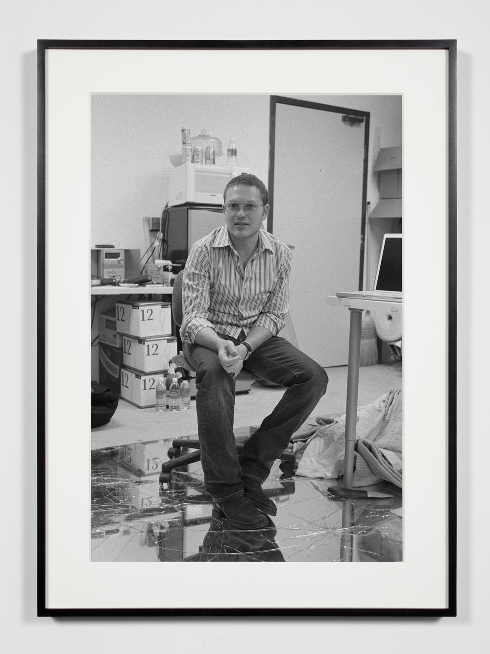 Artist (KFH), Los Angeles, California, July 9, 2008    2008   Epson Ultrachrome K3 archival ink jet print on Hahnemühle Photo Rag paper  36 3/8 x 26 3/8 inches   Industrial Portraits, 2008–
