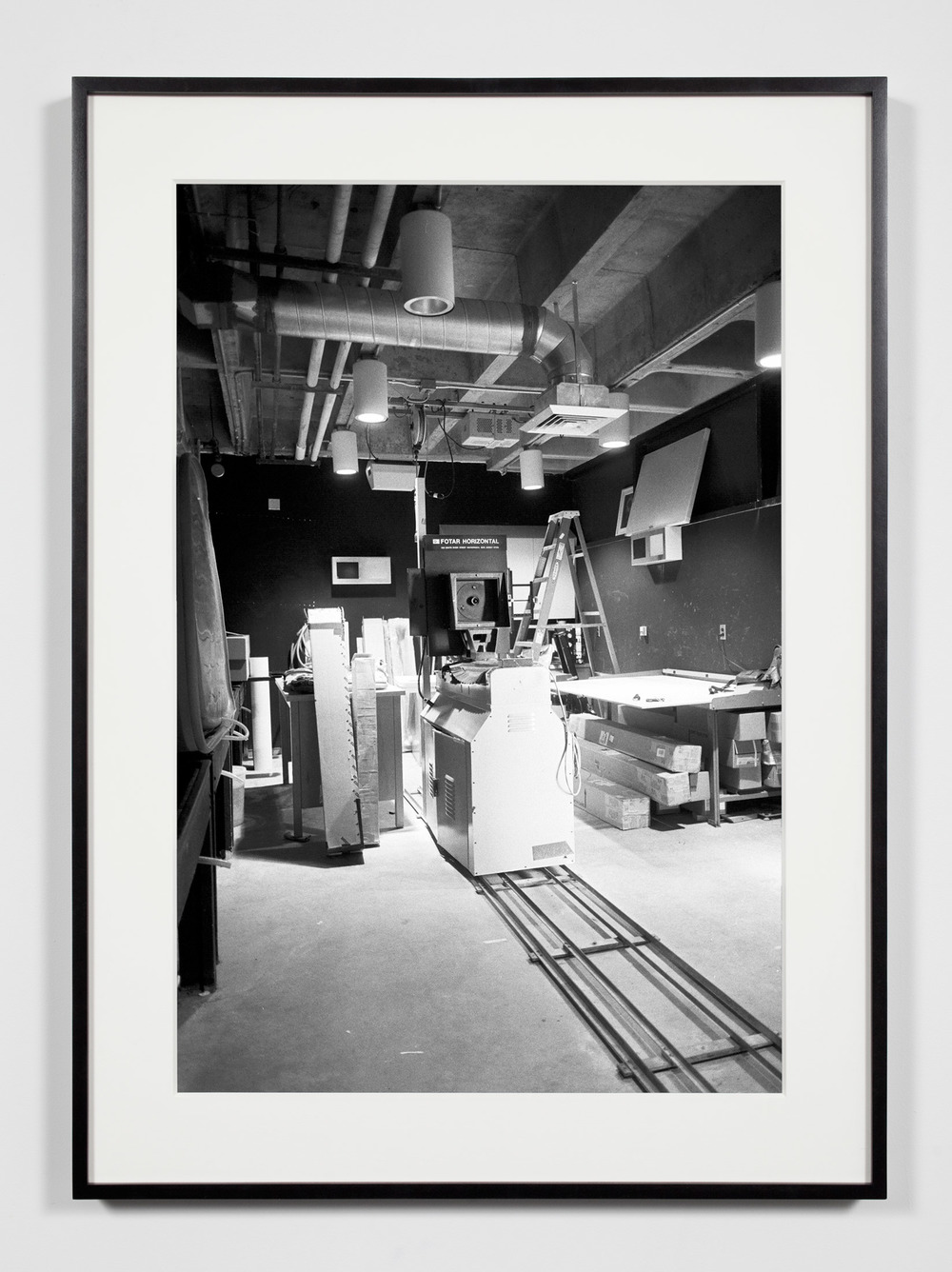 8 x 10 Horizontal Enlarger (Fotar), Irvine, California, July 18, 2008     2008   Epson Ultrachrome K3 archival ink jet print on Hahnemühle Photo Rag paper  36 3/8 x 26 3/8 inches   Industrial Portraits, 2008–