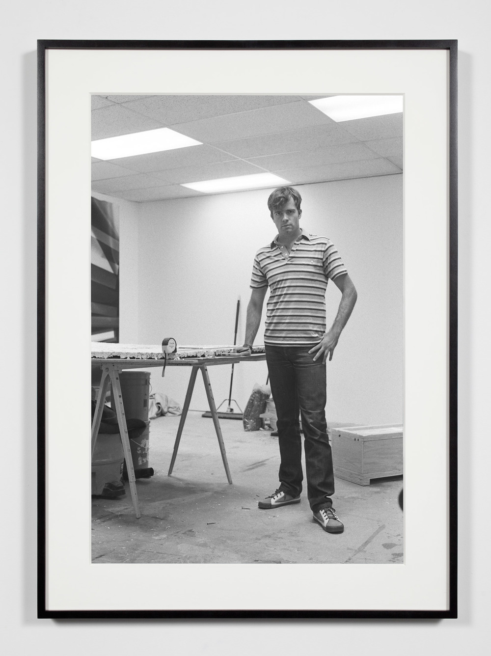 Studio Assistant, Los Angeles, California, September 15, 2009    2011   Epson Ultrachrome K3 archival ink jet print on Hahnemühle Photo Rag paper  36 3/8 x 26 3/8 inches   Industrial Portraits, 2008–