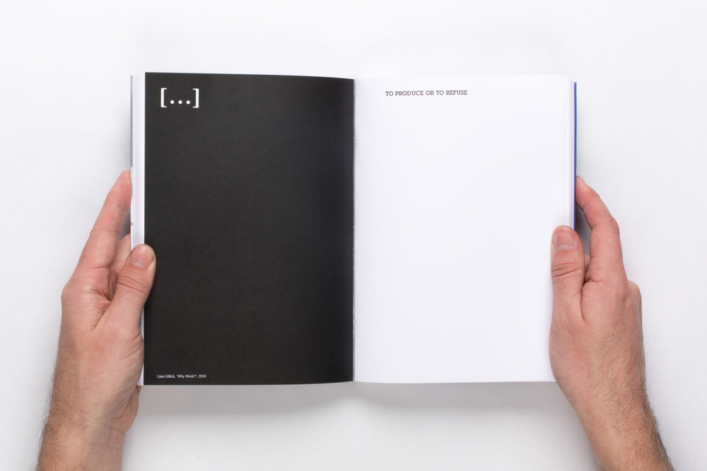 […] 001   2015  Two digital offset publications in linen slipcase  8 5/8 x 2 3/8 x 6 inches    Walead Beshty, ed., Ethics, Documents of Contemporary Art, published by MIT Press and Whitechapel Gallery and  Unethical, self-published book containing all text edited out of  Ethics.