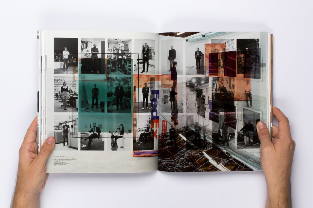 Make-Ready 2 (Walead Beshty: Natural Histories, JRP Ringier, Zürich, January 11–15, 2011)    2015   Four-color offset on coated paper, bound  11 1/2 x 9 1/2 inches   Great Hall Exhibition, 2015    Automat, 2016