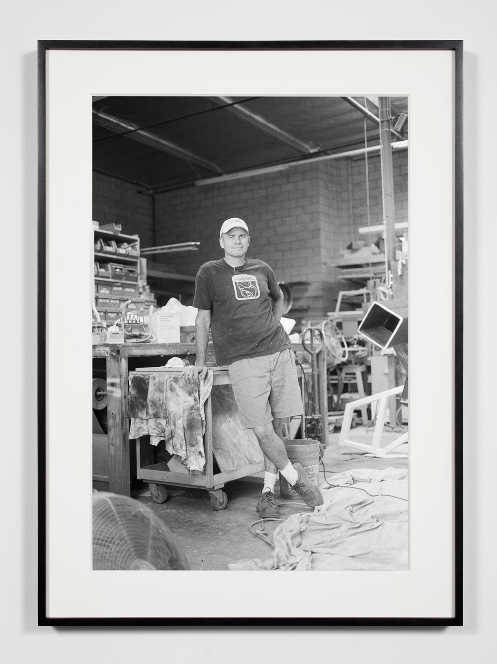 Fabricator (JD), Glendale, California, July 9, 2008    2008   Epson Ultrachrome K3 archival ink jet print on Hahnemühle Photo Rag paper  36 3/8 x 26 3/8 inches   Industrial Portraits, 2008–