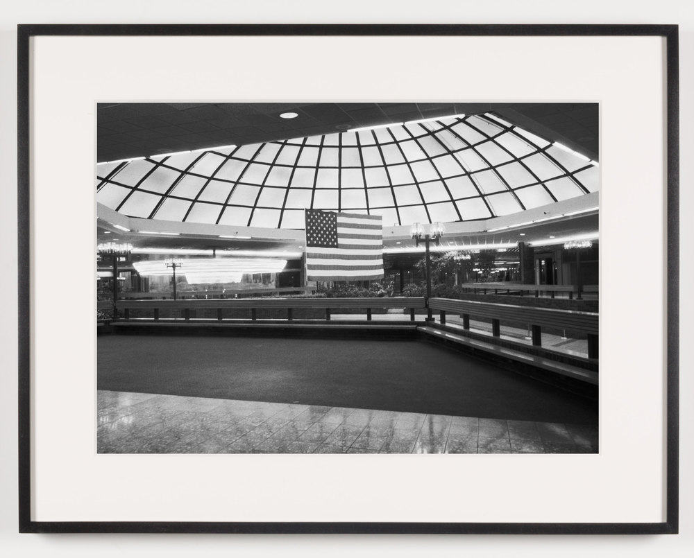 Southwyck Mall (View of Fountain), Toledo, OH, Est. 1972, Demo. 2009    2011   Epson Ultrachrome K3 archival ink jet print on Hahnemühle Photo Rag paper  21 5/8 x 28 1/8 inches   American Passages, 2001–2011