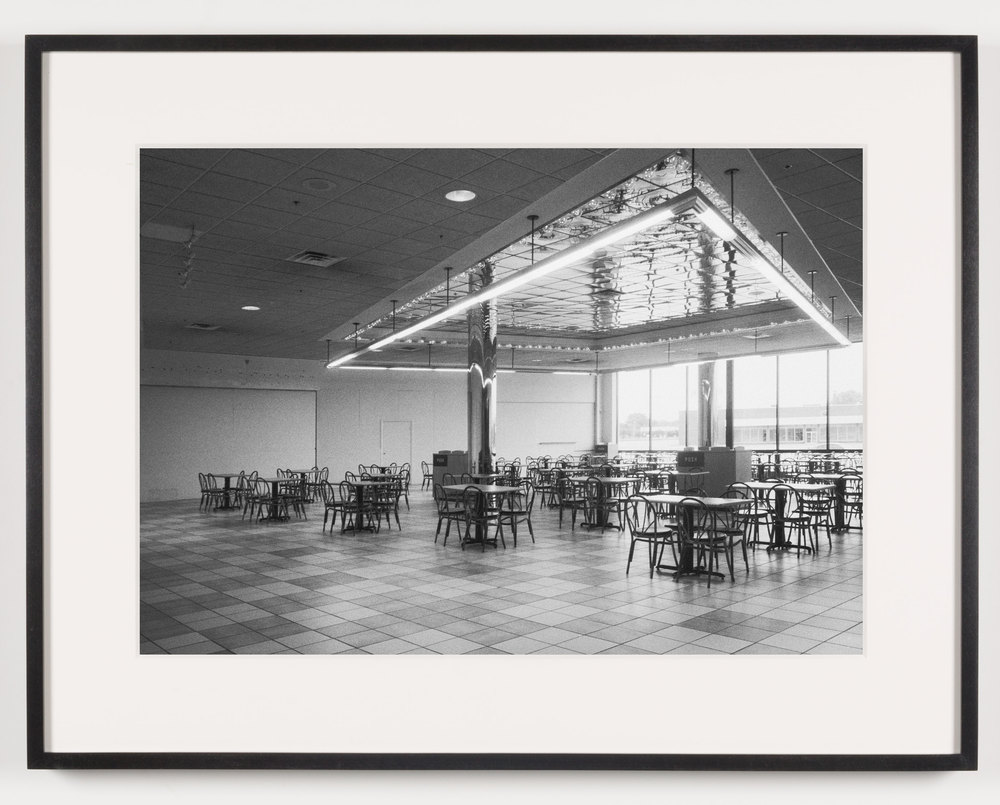 Southwyck Mall (View of Food Court), Toledo, OH, Est. 1972, Demo. 2009    2011   Epson Ultrachrome K3 archival ink jet print on Hahnemühle Photo Rag paper  21 5/8 x 28 1/8 inches   American Passages, 2001–2011