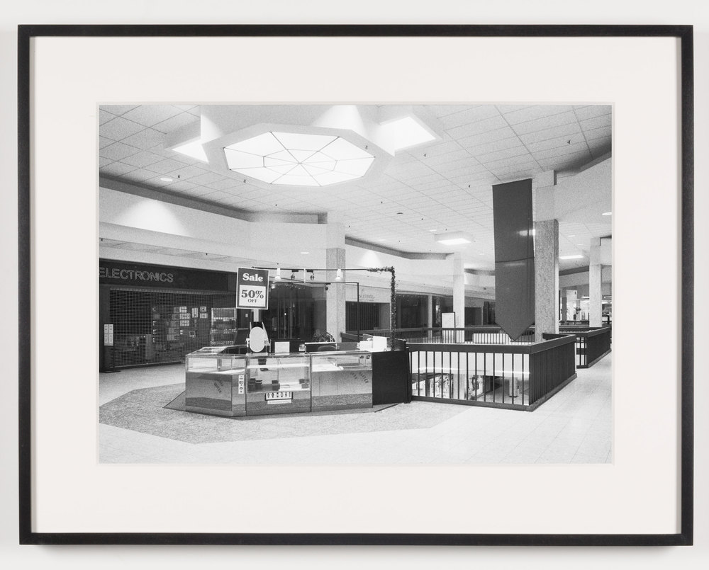 Randall Park Mall ('Electronics') North Randall, OH, Est. 1976, Demo. 2014    2011   Epson Ultrachrome K3 archival ink jet print on Hahnemühle Photo Rag paper  21 5/8 x 28 1/8 inches   American Passages, 2001–2011