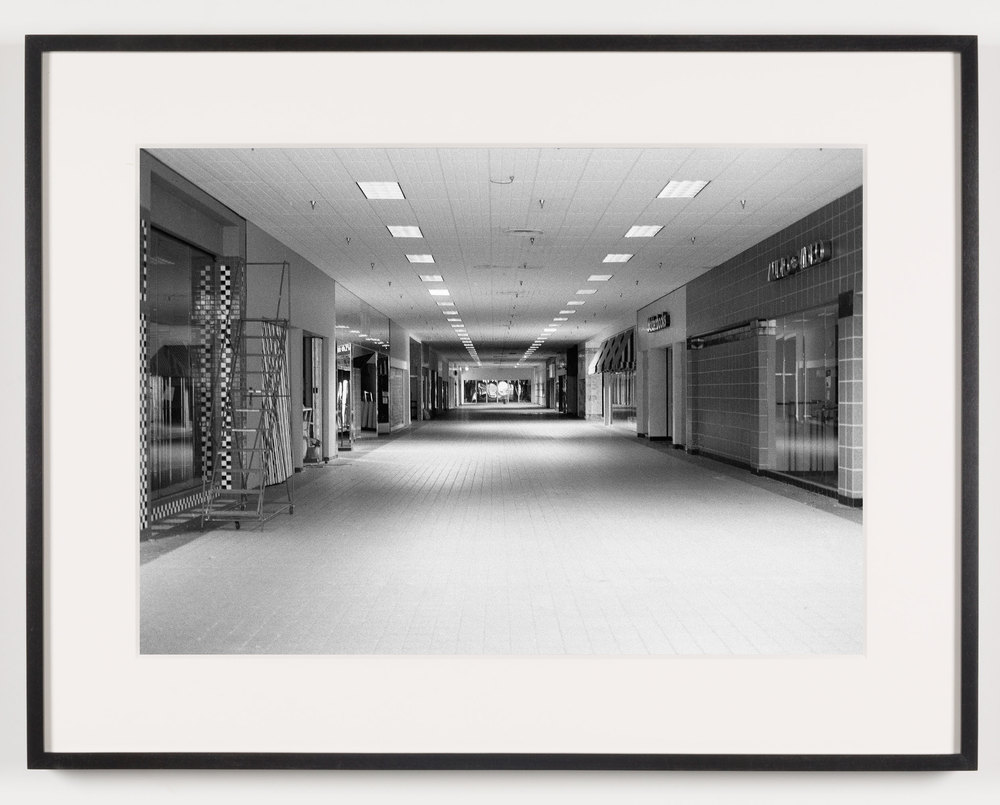 Lockport Mall (View of Interior), Lockport, NY, Est. 1971, Demo. 2011    2011   Epson Ultrachrome K3 archival ink jet print on Hahnemühle Photo Rag paper  21 5/8 x 28 1/8 inches   American Passages, 2001–2011