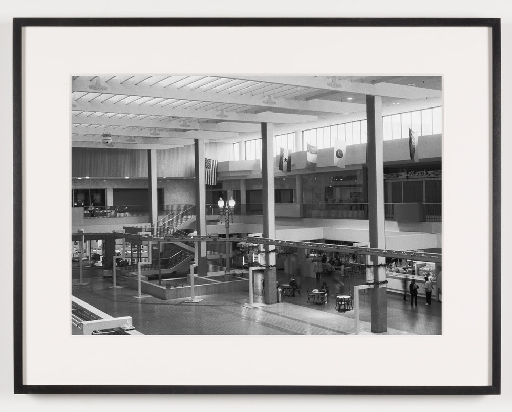Midtown Plaza (View of Central Plaza Looking South), Rochester, NY. Est. 1962, Demo. 2008    2011   Epson Ultrachrome K3 archival ink jet print on Hahnemühle Photo Rag paper  21 5/8 x 28 1/8 inches   American Passages, 2001–2011