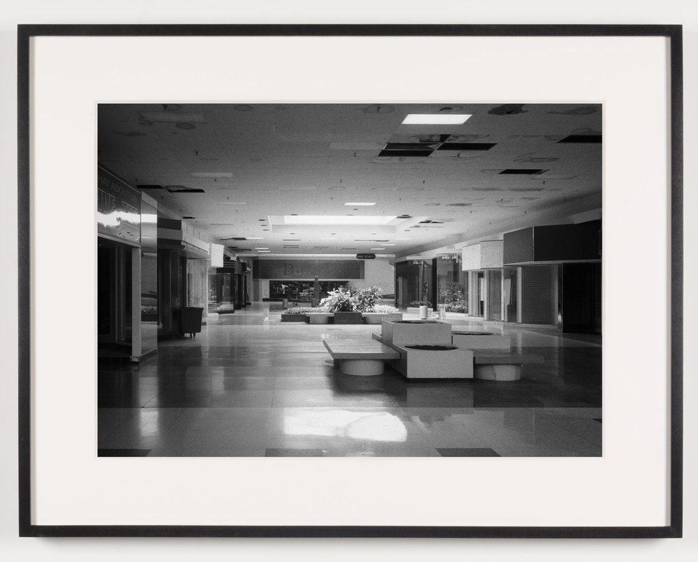 Rolling Acres Mall ('Dillards') Akron, OH, Est. 1975    2011   Epson Ultrachrome K3 archival ink jet print on Hahnemühle Photo Rag paper  21 5/8 x 28 1/8 inches   A Diagram of Forces, 2011