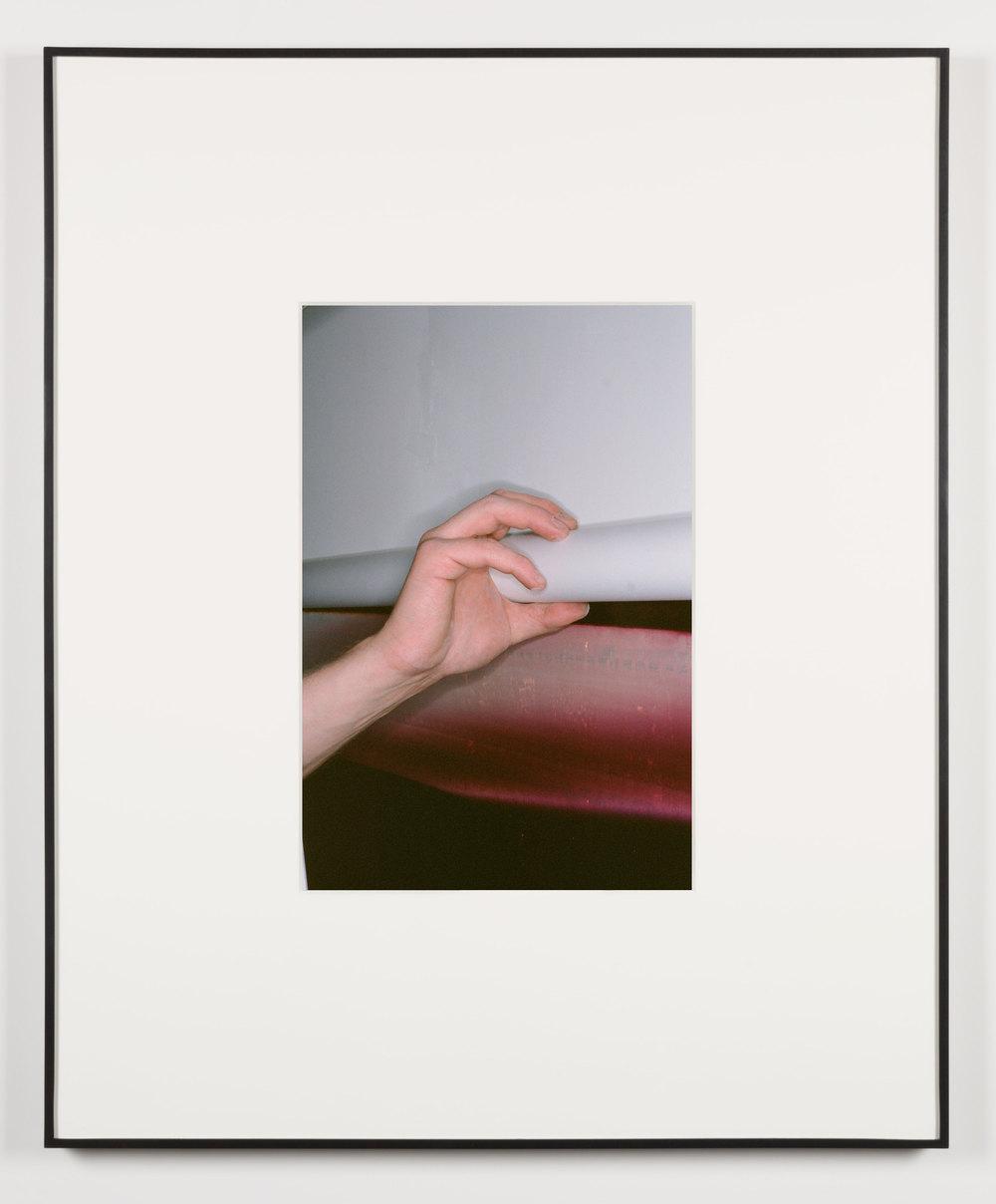 Die Technik der Eroberung (Los Angeles, California, January 14, 2014)    2014   Chromogenic print  20 x 13 1/2 inches   Art Handling, 2011–