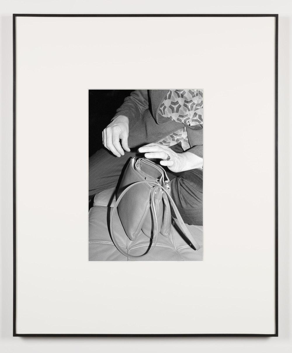 Liberté, Amour, Art (Vienna, Austria, November 22, 2012)    2014   Black and white digital fiber print  20 x 13 1/2 inches   Art Handling, 2011–