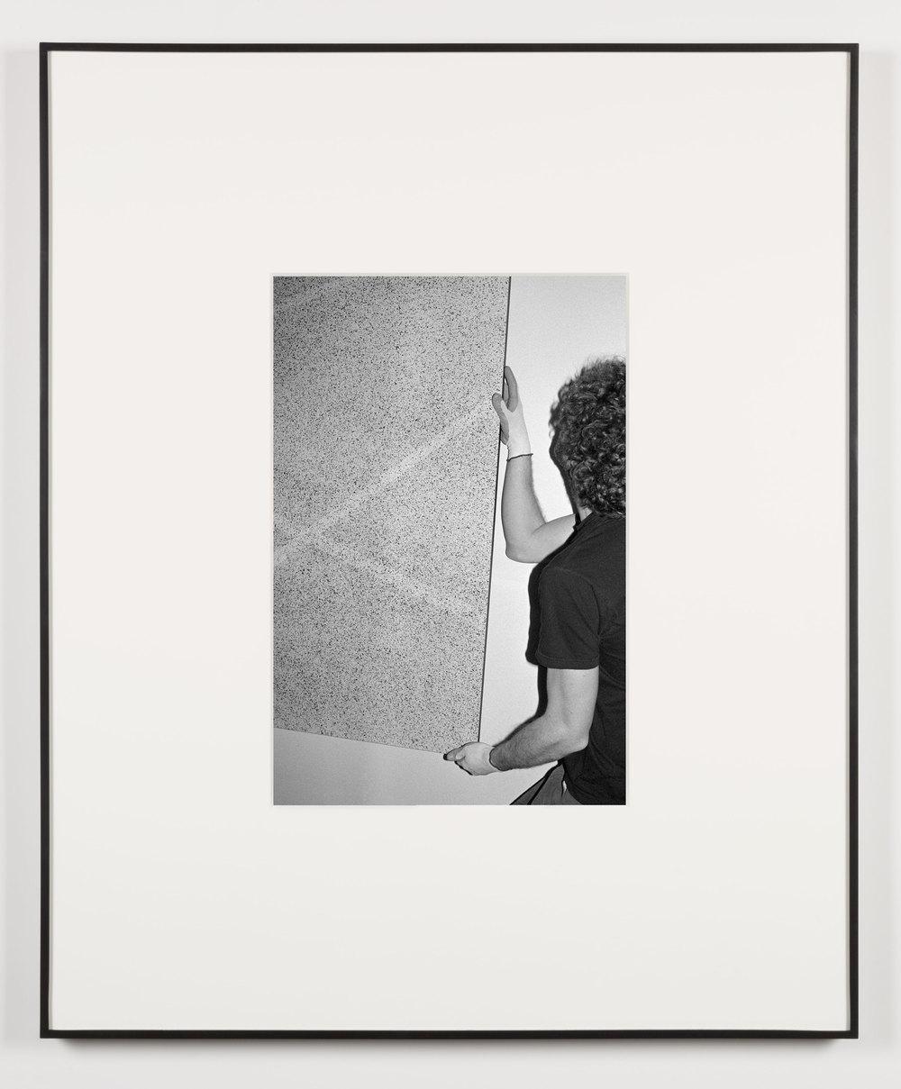 Die Mütter (Waltham, Massachusetts, February 4, 2013)    2014   Black and white digital fiber print  20 x 13 1/2 inches   Art Handling, 2011–