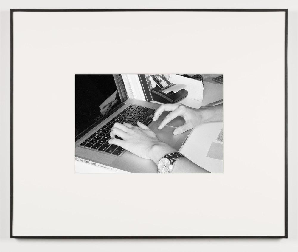 Die Qual der Lust (Los Angeles, California, August 15, 2013)    2014   Black and white digital fiber print  13 1/2 x 20 inches   Art Handling, 2011–