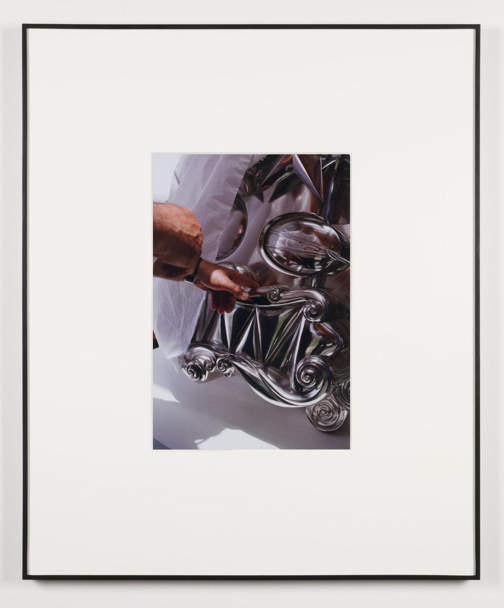 Die Supermutter (Beirut, Lebanon, June 1, 2013), Frame No. 15    2014   Chromogenic print  20 x 13 1/2 inches   Gastarbeiten, 2014