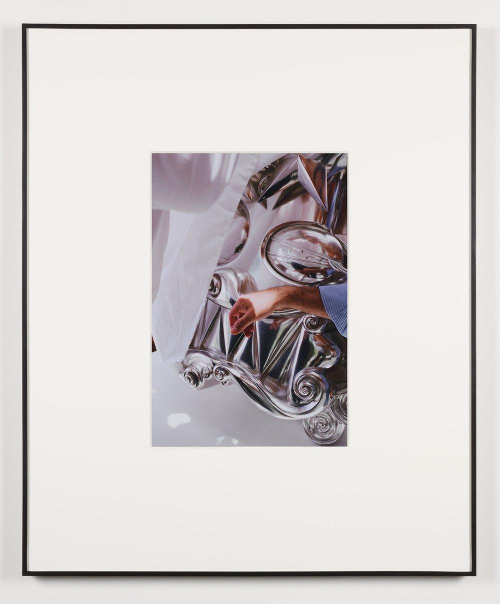 Schmerz (Beirut, Lebanon, June 1, 2013), Frame No. 14    2014   Chromogenic print  20 x 13 1/2 inches   Gastarbeiten, 2014