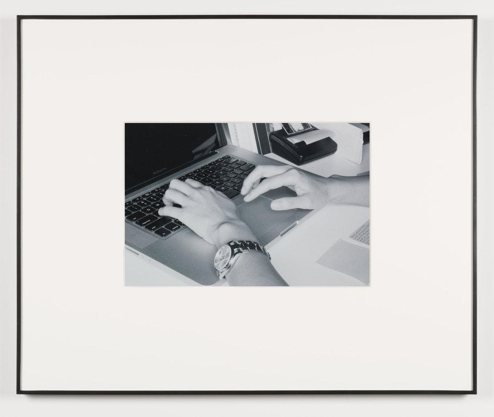 Schicksal (Los Angeles, California, August 30, 2011), Frame No. 19    2014   Black and white digital fiber print  13 1/2 x 20 inches   Gastarbeiten, 2014
