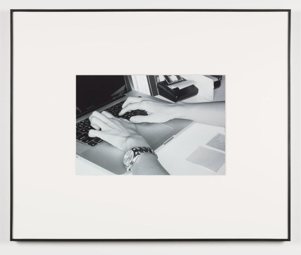 Frustration (Los Angeles, California, August 30, 2011), Frame No. 21    2014   Black and white digital fiber print  13 1/2 x 20 inches   Gastarbeiten, 2014