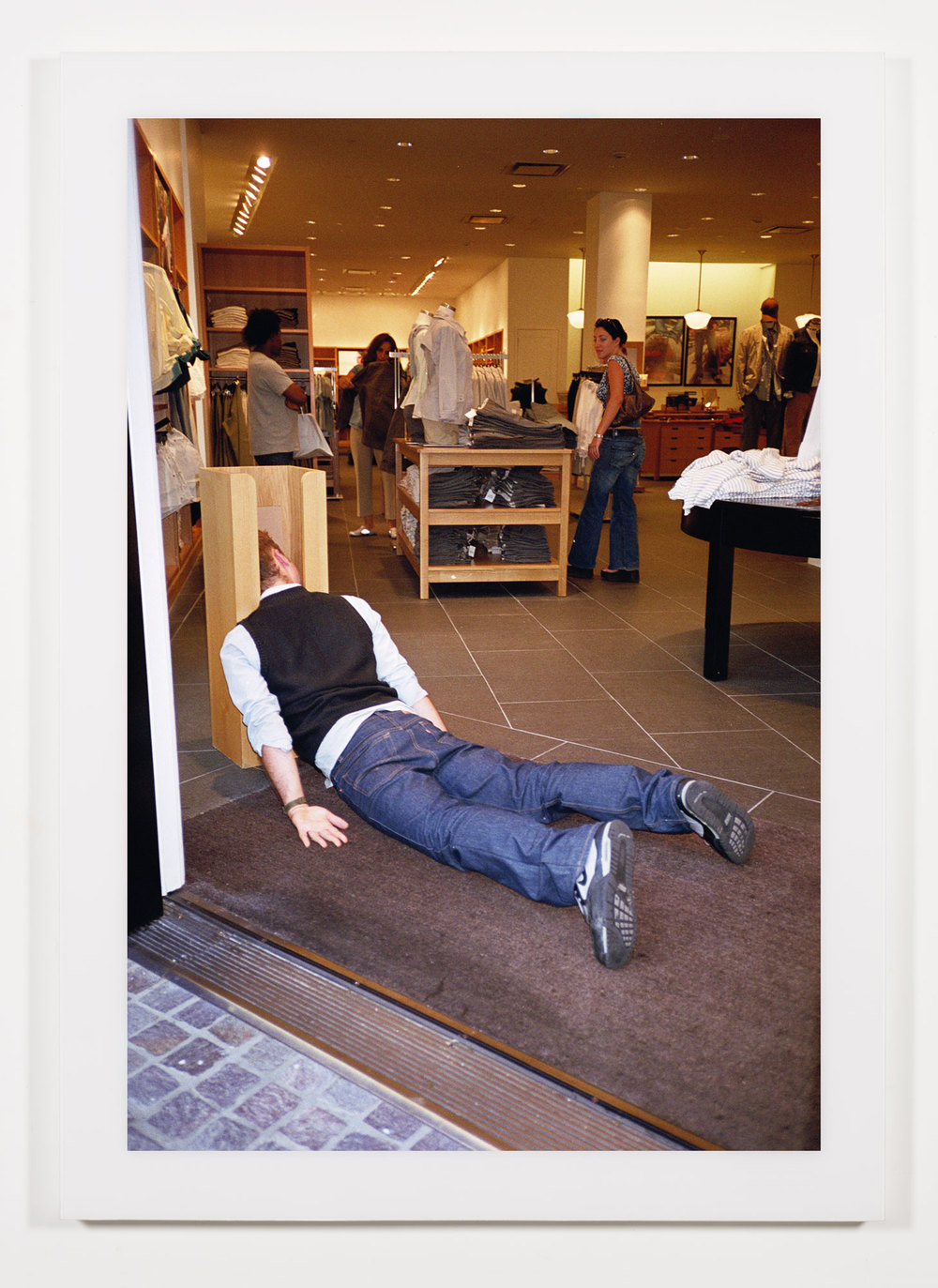 The Phenomenology of Shopping (J. Crew, The Grove, Los Angeles, CA)    2002   Chromogenic print  68 x 47 3/4 inches