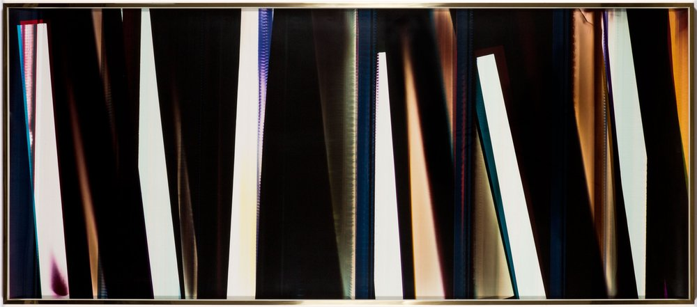 RA4 Contact Print / Processor Stall [Black Curl (9:6/MYC/Six Magnet: Los Angeles, California, July 15, 2014, Fuji Color Crystal Archive Super Type C, Em. No. 107-116, 75414), Kreonite KM IV 5225 RA4 Color Processor, Ser. No. 00092174] , 2016