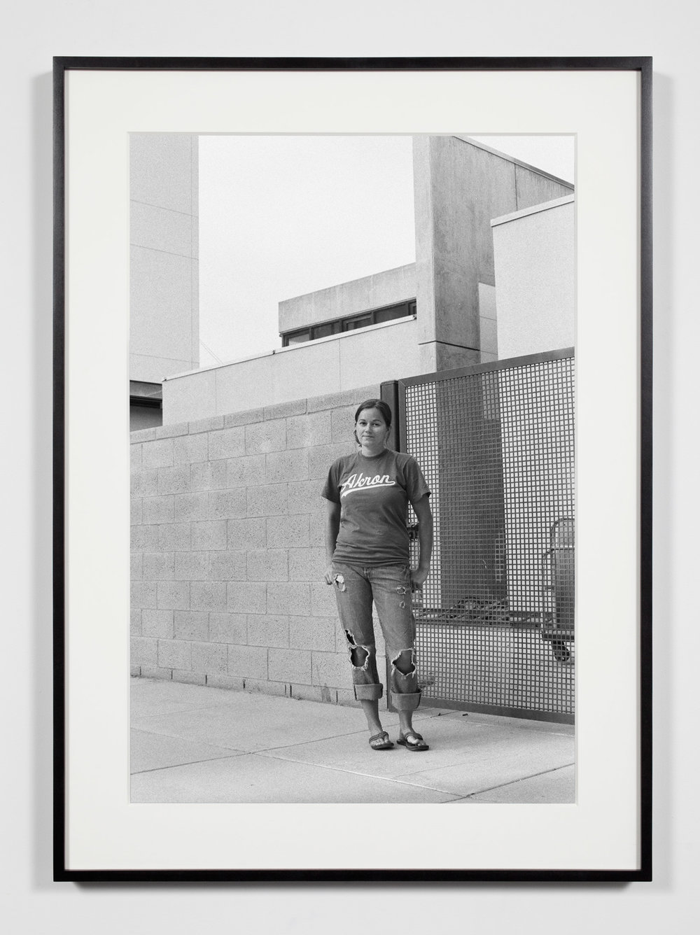 Darkroom Assistant, Irvine, California, September 14, 2009   2011  Epson Ultrachrome K3 archival ink jet print on Hahnemühle Photo Rag paper  36 3/8 x 26 3/8 inches   Industrial Portraits, 2008–    A Diagram of Forces, 2011