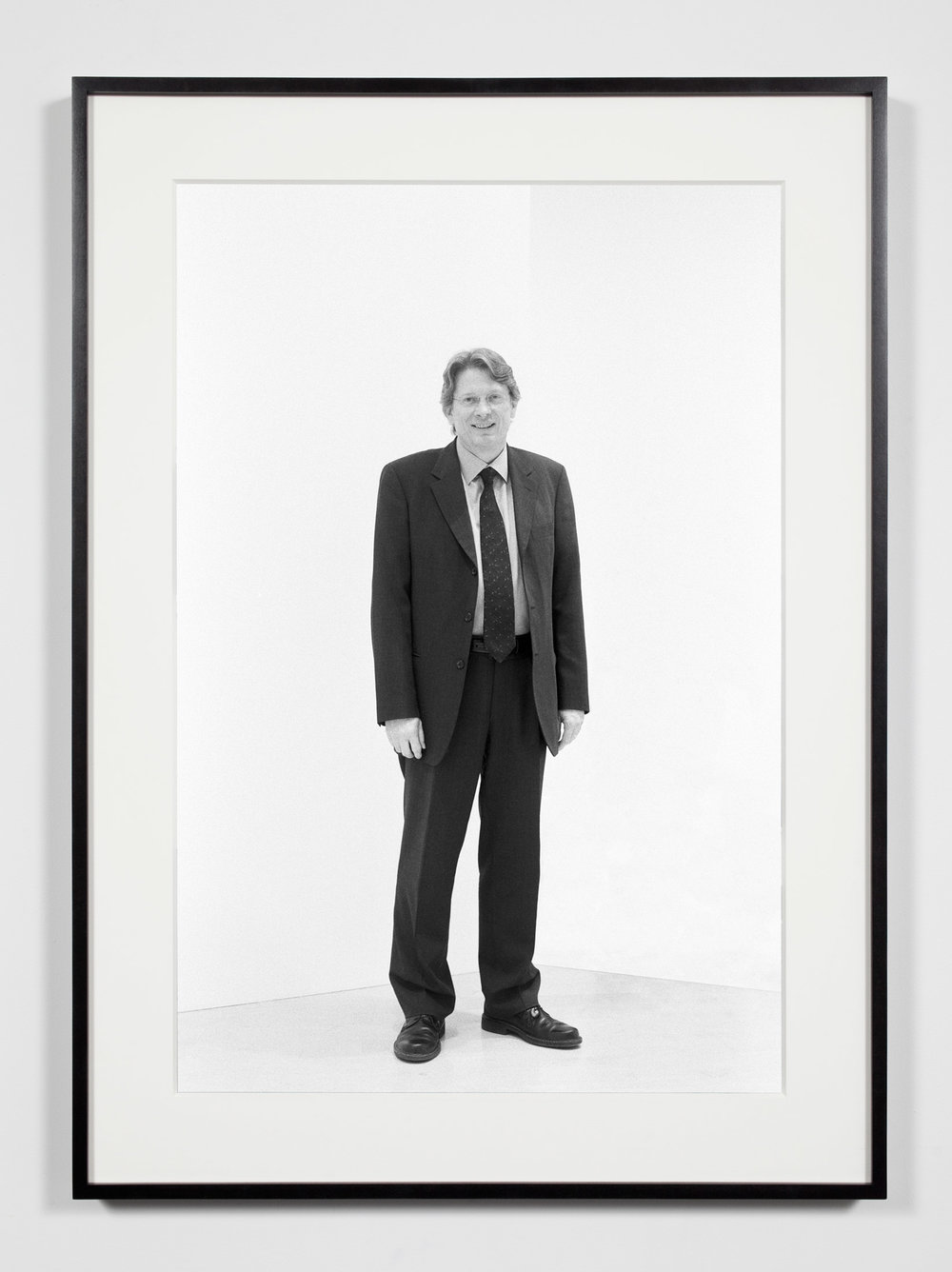 Museum Chief Curator, Washington, District of Columbia, April 29, 2009   2011  Epson Ultrachrome K3 archival ink jet print on Hahnemühle Photo Rag paper  36 3/8 x 26 3/8 inches   Industrial Portraits, 2008–    A Diagram of Forces, 2011