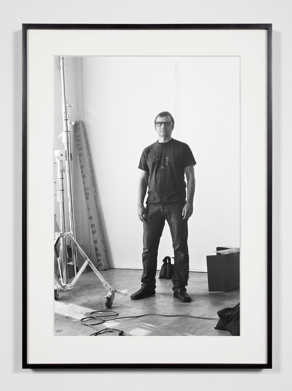 Photographer, Los Angeles, California, June 3, 2009   2011  Epson Ultrachrome K3 archival ink jet print on Hahnemühle Photo Rag paper  36 3/8 x 26 3/8 inches   Industrial Portraits, 2008–    A Diagram of Forces, 2011