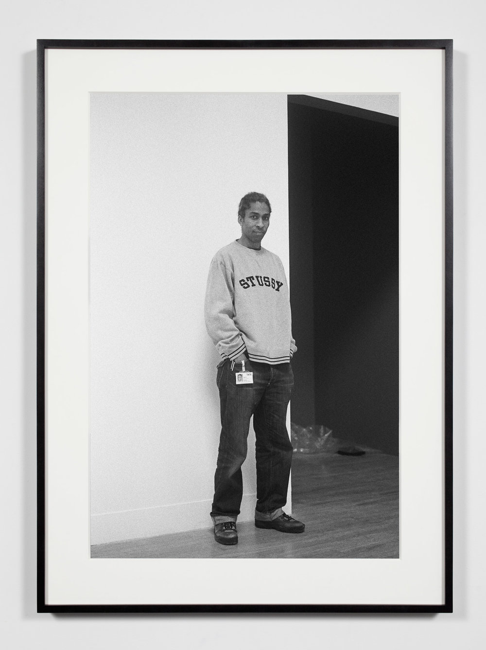 Museum Preparator, London, United Kingdom, January 30, 2009   2011  Epson Ultrachrome K3 archival ink jet print on Hahnemühle Photo Rag paper  36 3/8 x 26 3/8 inches   Industrial Portraits, 2008–    A Diagram of Forces, 2011