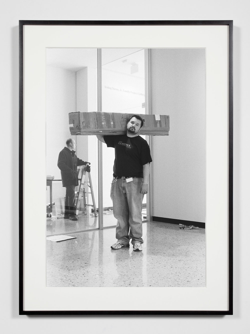 University Museum Preparator, Ann Arbor, Michigan, March 27, 2009   2011  Epson Ultrachrome K3 archival ink jet print on Hahnemühle Photo Rag paper  36 3/8 x 26 3/8 inches   Industrial Portraits, 2008–    A Diagram of Forces, 2011