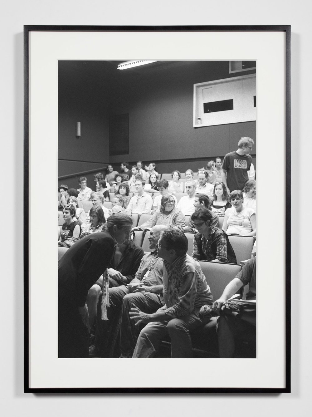 College Lecture Hall, Annandale-on-Hudson, New York, July 11, 2009   2011  Epson Ultrachrome K3 archival ink jet print on Hahnemühle Photo Rag paper  36 3/8 x 26 3/8 inches   Industrial Portraits, 2008–    A Diagram of Forces, 2011
