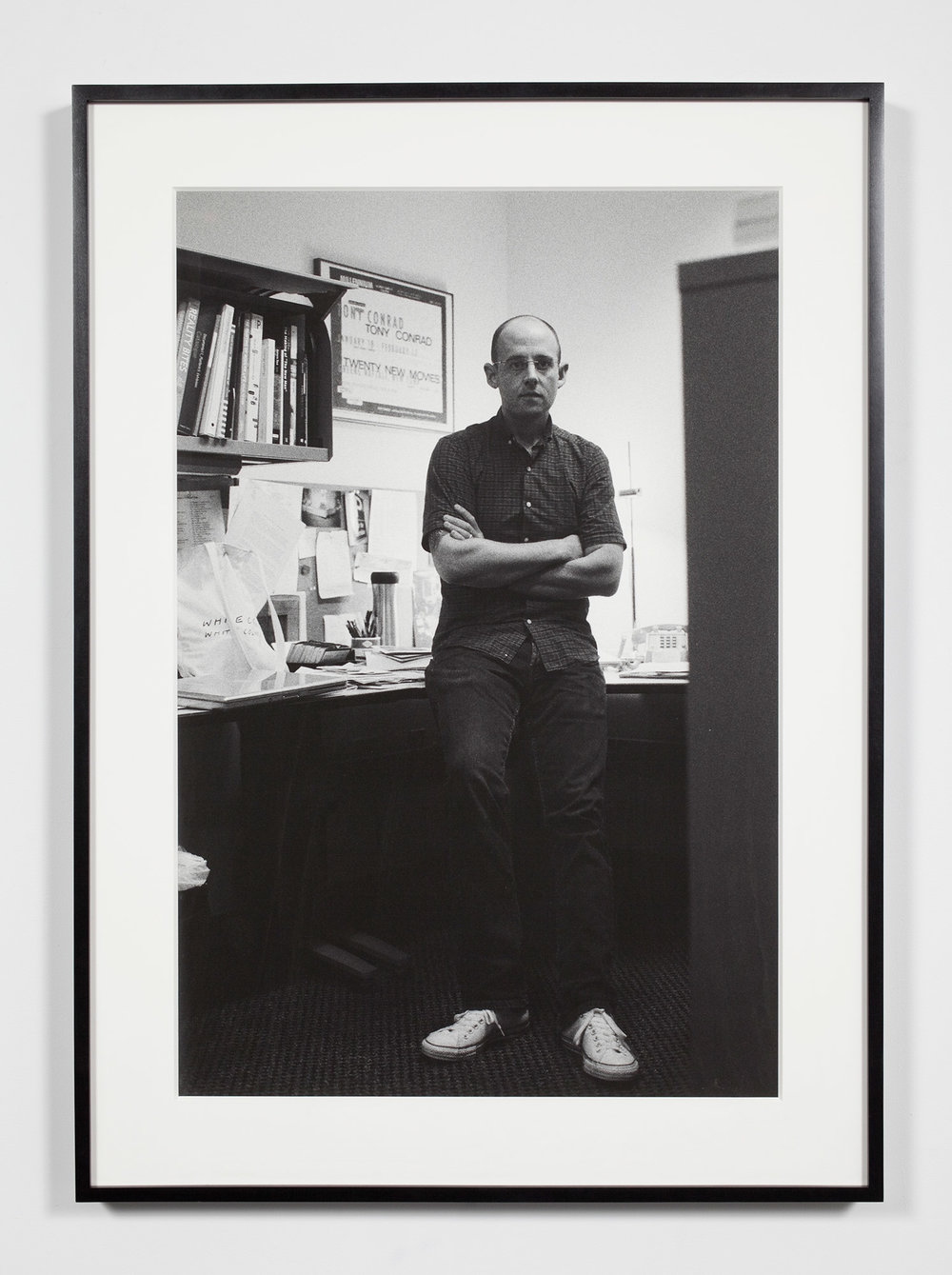 University Museum Associate Curator, Ann Arbor, Michigan, September 19, 2008   2011  Epson Ultrachrome K3 archival ink jet print on Hahnemühle Photo Rag paper  36 3/8 x 26 3/8 inches   Industrial Portraits, 2008–    A Diagram of Forces, 2011