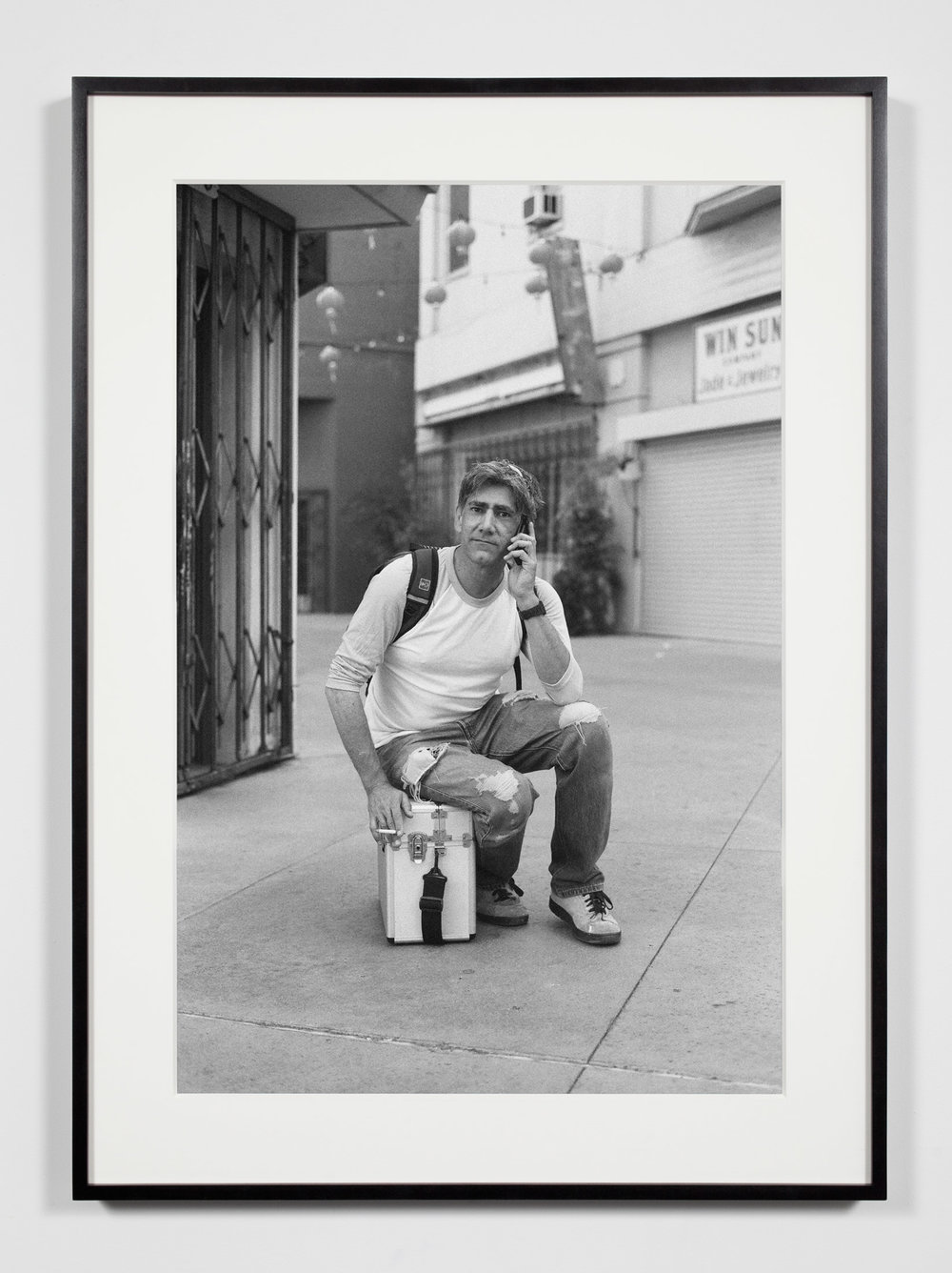 Gallery Preparator, Los Angeles, California, July 26, 2008   2011  Epson Ultrachrome K3 archival ink jet print on Hahnemühle Photo Rag paper  36 3/8 x 26 3/8 inches   Industrial Portraits, 2008–    A Diagram of Forces, 2011