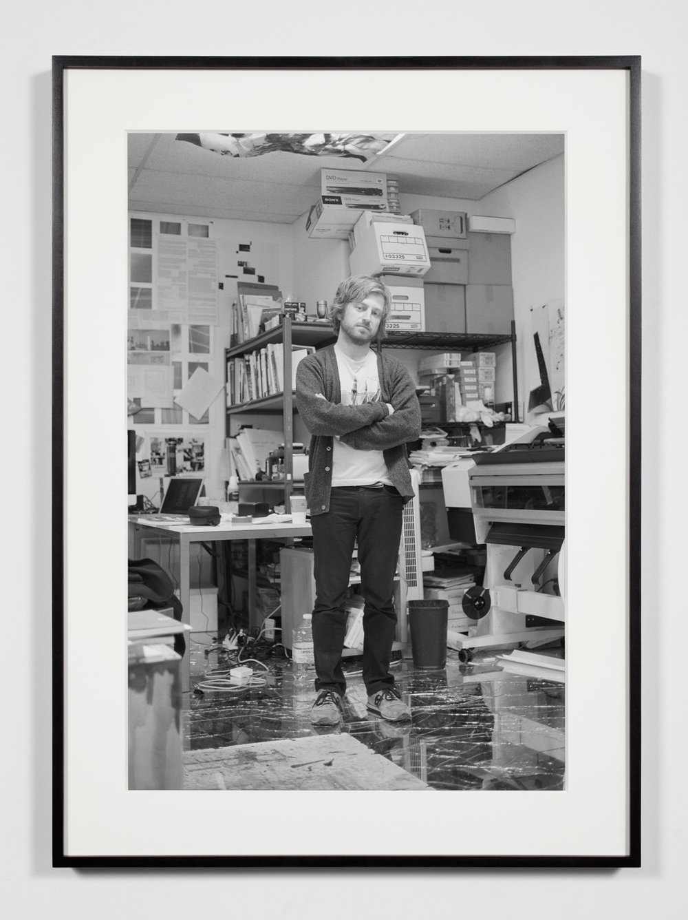 Studio Production Manager, Los Angeles, California, December 9, 2010   2011  Epson Ultrachrome K3 archival ink jet print on Hahnemühle Photo Rag paper  36 3/8 x 26 3/8 inches   Industrial Portraits, 2008–    A Diagram of Forces, 2011