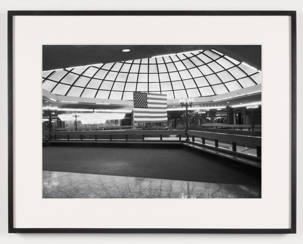 Southwyck Mall (View of Fountain), Toledo, OH, Est. 1972, Demo. 2009   2011  Epson Ultrachrome K3 archival ink jet print on Hahnemühle Photo Rag paper  21 5/8 x 28 1/8 inches   American Passages, 2001–2011    A Diagram of Forces, 2011