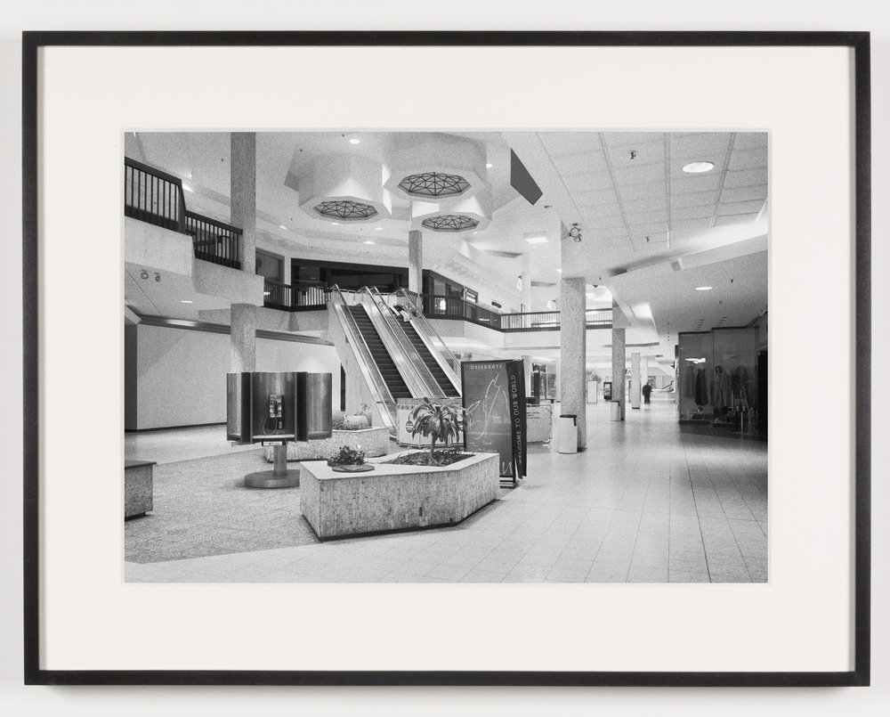Randall Park Mall (View of Interior), North Randall, OH, Est. 1976, Demo. 2014   2011  Epson Ultrachrome K3 archival ink jet print on Hahnemühle Photo Rag paper  21 5/8 x 28 1/8 inches   American Passages, 2001–2011    A Diagram of Forces, 2011