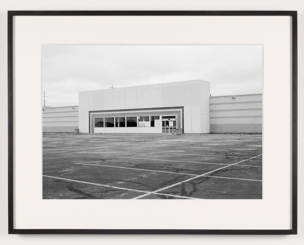 'Toys 'R Us' (View of Exterior), North Randall, OH, Est. 1986   2011  Epson Ultrachrome K3 archival ink jet print on Hahnemühle Photo Rag paper  21 5/8 x 28 1/8 inches   American Passages, 2001–2011    A Diagram of Forces, 2011