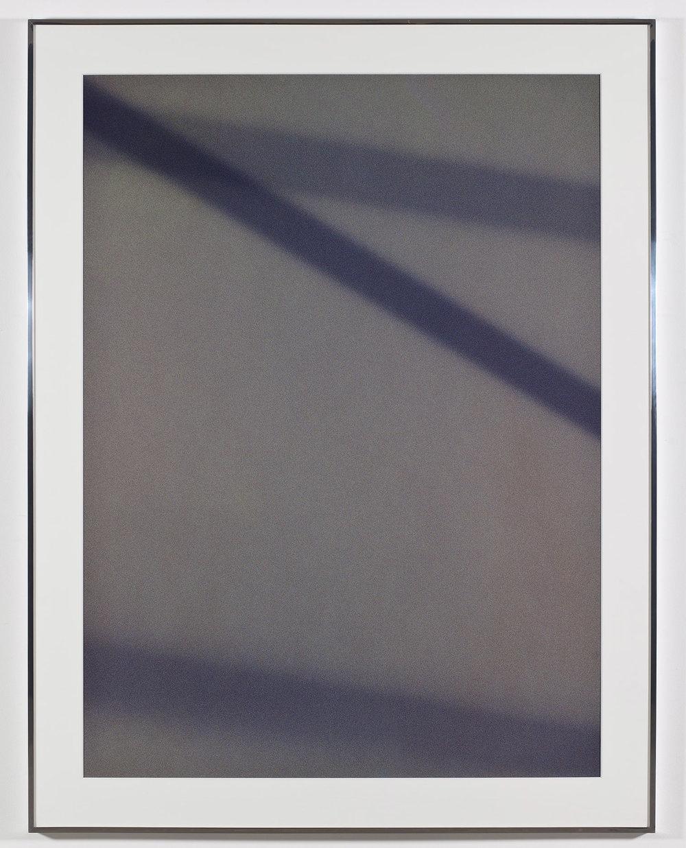 Transparency (Positive) [Fujichrome RDPIII Provia 100F Em. No. 05481: November 28–30, 2010 LAX/MIA MIA/LAX]   2011  Epson Ultrachrome K3 archival ink jet print on Museo Silver Rag Paper  68 x 52 1/4 inches   Transparencies, 2008–2014    Diapositives, 2011