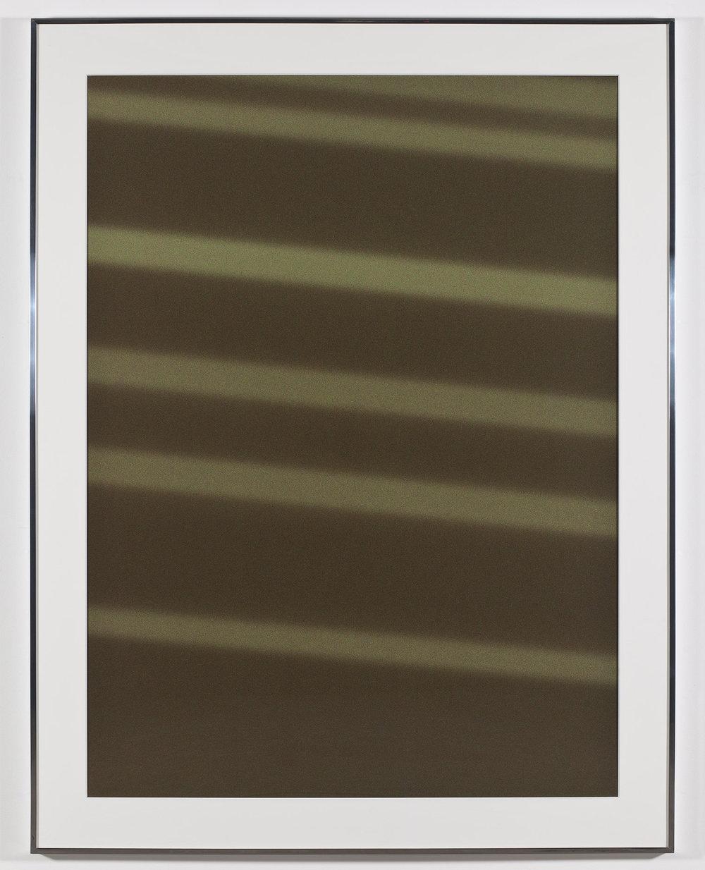 Transparency (Negative) [Kodak Portra 400NC Em. No. 2031: April 25–27, 2010 LAX/JFK BOS/SFO SFO/LAX]   2011  Epson Ultrachrome K3 archival ink jet print on Museo Silver Rag Paper  68 x 52 1/4 inches   Transparencies, 2008–2014    Diapositives, 2011