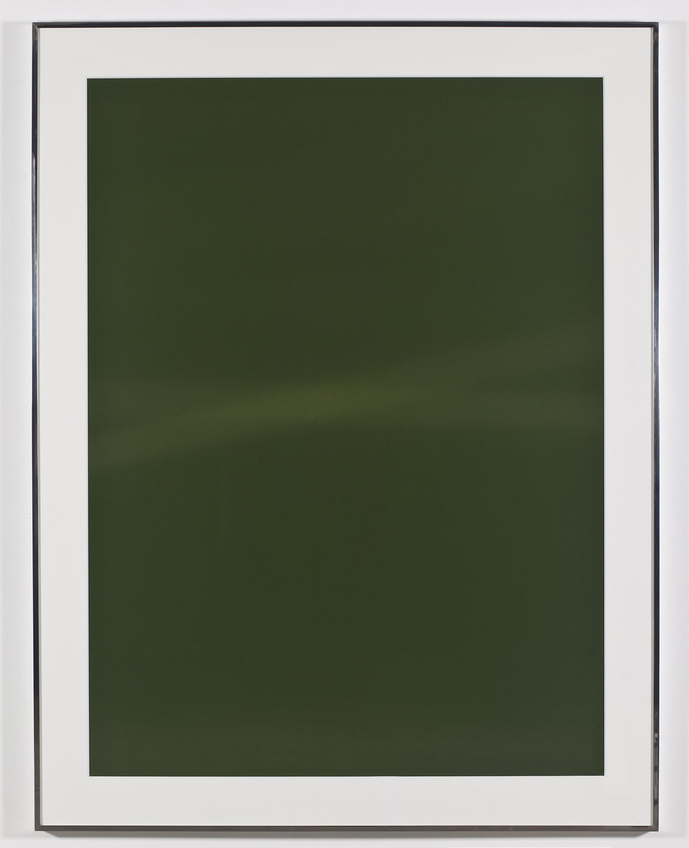 Transparency (Positive) [Fujichrome RDPIII Provia 100F Em. No. 05481: January 11–15, 2011 LAX/IAD/ZRH ZRH/IAD/LAX]   2011  Epson Ultrachrome K3 archival ink jet print on Museo Silver Rag Paper  68 x 52 1/4 inches   Transparencies, 2008–2014    Diapositives, 2011