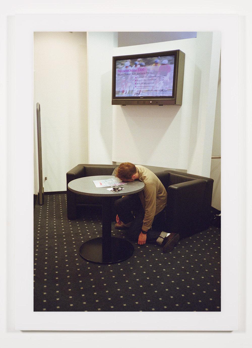 The Phenomenology of Shopping (T-Mobile, Alexanderplatz, Berlin, Germany)   2002  Chromogenic print  68 x 47 3/4 inches   The Phenomenology of Shopping, 2001–2003