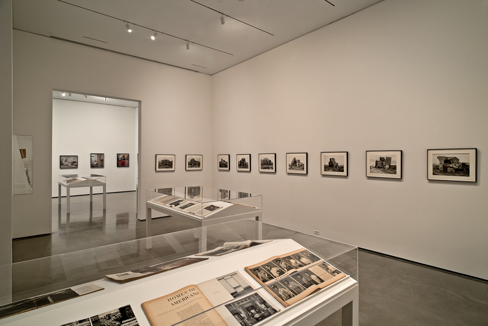 Picture Industry , Hessel Museum, Center for Curatorial Studies, Bard College, Annandale-on-Hudson, NY, 2017.     Walker Evans, JET Magazine, Charles Moore, and Bernd and Hilla Becher