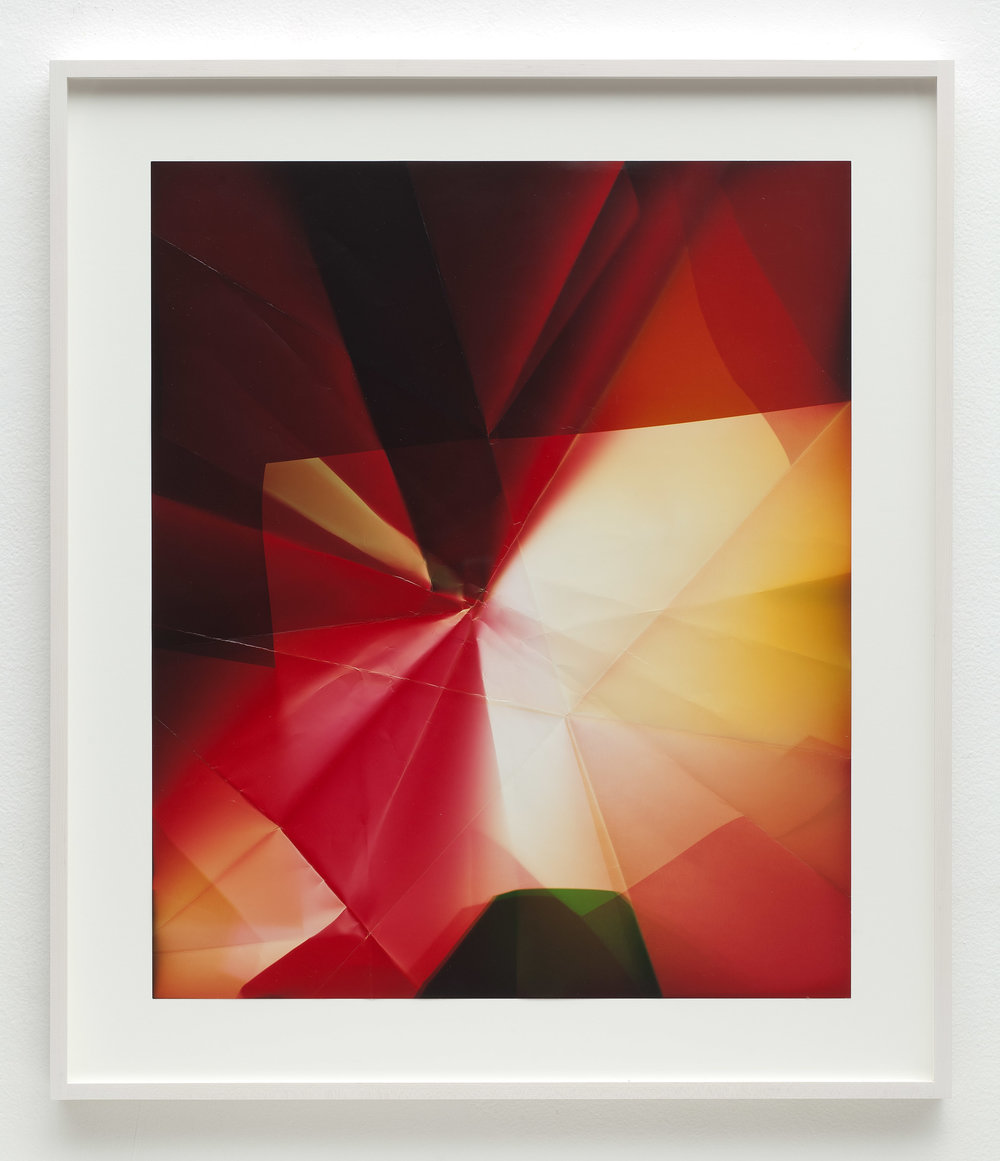 Four-Sided Picture (MRYG), January 12, 2007, Valencia, California, Fujicolor Crystal Archive   2010  Color photographic paper  26 1/2 x 22 1/2 inches   Multi-Sided Folds, 2007–