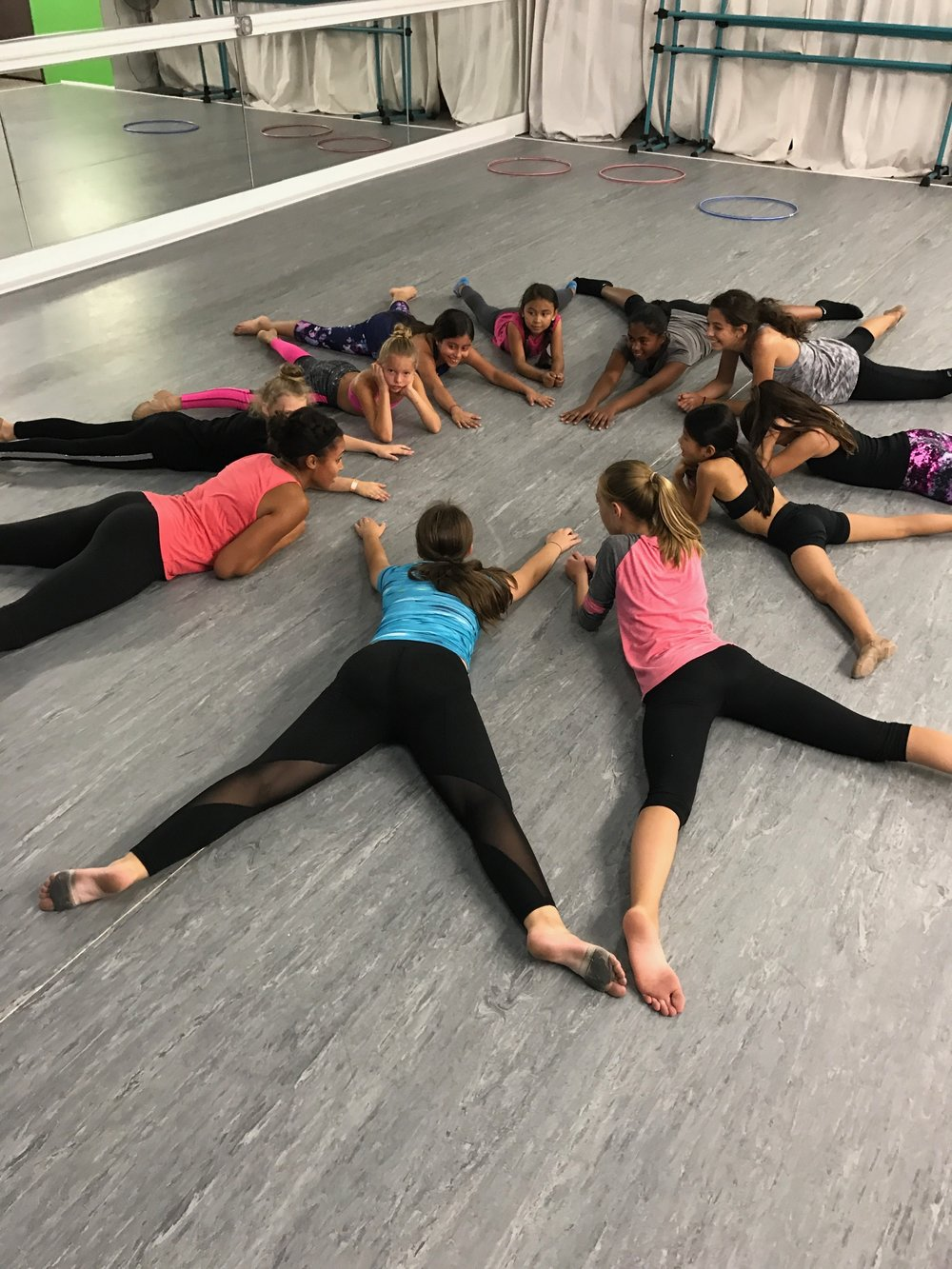 Large group at Next Level Dance Studio