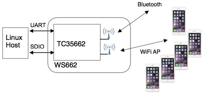 WS662 for Linux host