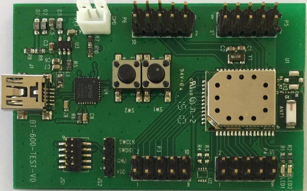 BT600I, nRF51822 module — Fanstel