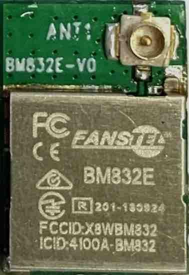 BM832E, size 10.2x15x1.9mm