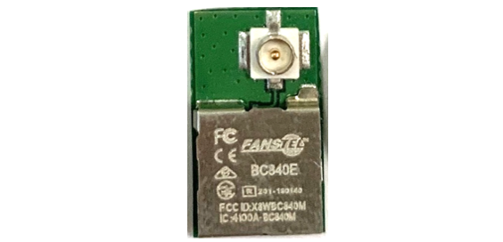 BC840E, Compact nRF52840 module with an u FL — Fanstel