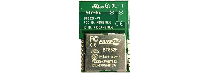 BT832F, Low cost, 760 meter range Bluetooth 5 0 module, $4 93 each at 1Kpcs
