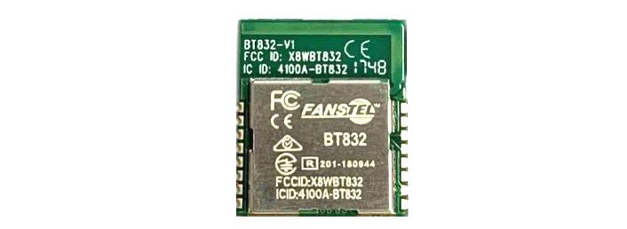 BT832 Bluetooth 5 module — Fanstel